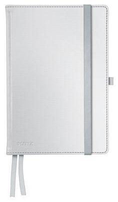 Leitz Notitieboek Style - A5 formaat - Harde gebonden kaft - gelijnd - pool wit
