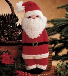 Knit Santa Doll Craf