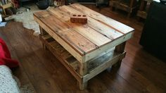 Rustic Coffee Table #5