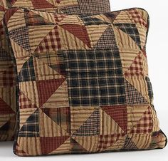 Country Pinwheel Pillow-