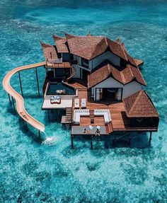 Who are you taking with you to this overwater resort in Maldives🤔🤔 ☀️ ☀️ ☀️ ☀️ ☀️ Tag a friend you… – transeunt-certifica Beautiful Places To Travel, Cool Places To Visit, Vacation Places, Dream Vacations, Honeymoon Destinations, Dream Vacation Spots, Vacation Rentals, Water Villa, Beste Hotels