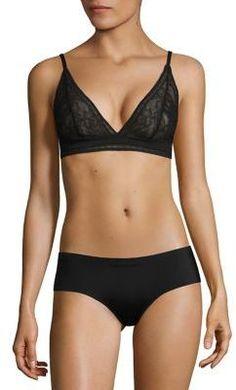 81583441528c1 Calvin Klein - CK Black Obsess Triangle Bralette