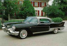 Front left Black 1957 Cadillac Eldorado Brougham Car Picture