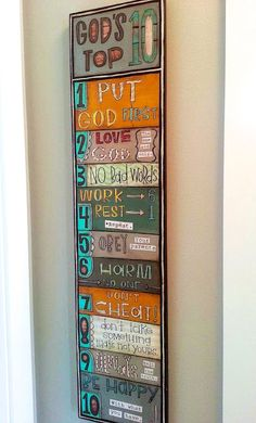 love these 10 commandments