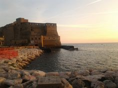 Castel dell'Ovo nel Napoli, Campania