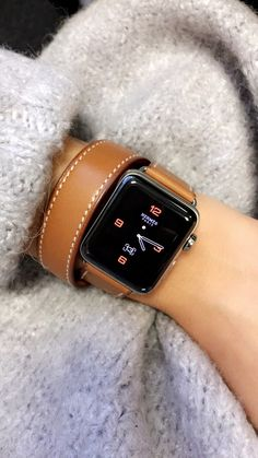 68172d234cce Utilize your Apple watch for Fitness, Exercising and Wellness. Gray  sweater, Hermes Apple