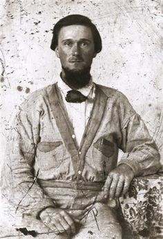 Private William Wooten of Company I, 42nd Mississippi Infantry. civil war era
