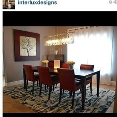 Diningroom designed by @interluxdesigns . Thank you for sharing your work with us! Keep hashtagging #inspire_me_home_decor for a chance to be featured! #home #homedecor #homedesign #design #decor #designoftheday #interiors #interiordedign #interiordecorator #ig #igdaily #follow #ideas #picoftheday #pictureoftheday #photooftheday #instadesign #instadecor #instahome #instagramer #instafollowers #instagood #instahub #chandelier... - Interior Design Ideas, Interior Decor and Designs, Home Design…