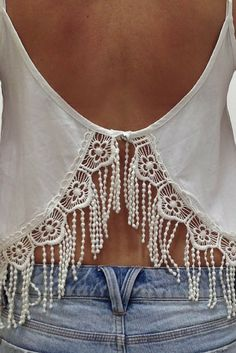 Close details of Finch Swim's  lace-trimmed cami #summerlovin #FinchSwim #lace #beachwear #details