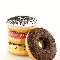 Doughnut, Cheesecake, Deserts, Food And Drink, Sweets, Baking, Recipes, Crack Crackers, Basket