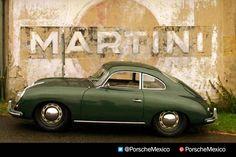 Two loves combine Martini Racing, Ferdinand Porsche, Porsche 356, Sexy Cars, Toys For Boys, Concept Cars, Classic Cars, Porsche Classic, Cars And Motorcycles