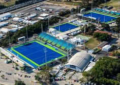 A 2.5 million-square-metre area west of Rio de Janeiro has been transformed into one of two major locations during the city's Olympic and Paralympic games