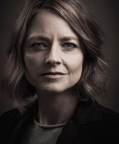 Jodie Foster by Andy Gotts, 2014