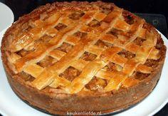 Oud-Hollandse appeltaart - Keuken♥Liefde