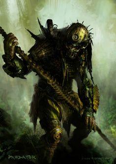 Predator Art | the art of simon robert: Predator