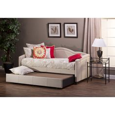 House of Hampton Balmer Daybed with Trundle & Reviews | Wayfair