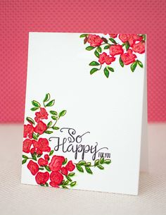 Catered Crop: Faux-Watercolor Greeting Card