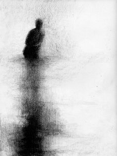 Georges Seurat drawings, matita condé, 1884 ca Georges Seurat, Crayon Drawings, Dark Art Drawings, Fine Art Drawing, Crayon Art, Beautiful Drawings, Shadow Drawing, Charcoal Drawing, Abstract Charcoal Art