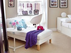 Chaise longue y más: colores y estilos