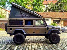 Land Rover Defender 110 Td4 Sw extreme adventure sports dormobile. Camping.