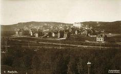 Nordland fylke Narvik oversikt over byen Utg C. A. Erichsen 1920-tallet