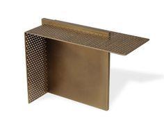 Le mobilier des decorateurs : Table d'appoint Partition, Isabelle Stanislas (Pouenat)