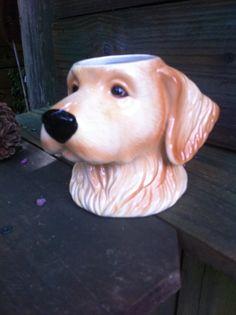 Golden Retriever Coffee Mug...Big Sky by JJsBottega on Etsy, $9.00