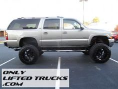 2000 Chevy Suburban Lifted Truck