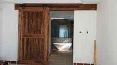 Custom barn door made by Rustic Rooster
