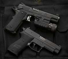 Springfield and Sig Sauer