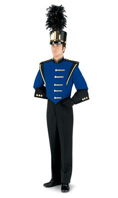 marching band uniform...don't like the sleeves too much