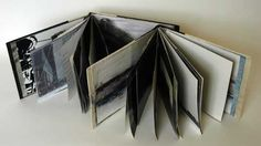 From Loneliness to Solitude by Yunhi Mook and Molly Coy. 21 x 32 x 3 cm. Bookcloth & cardboard, digital prints on paper & textiles. Two books in a single binding. I feel lonely in a crowd but not when I am alone