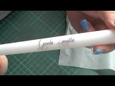 DIY Wedding - Candle Place Cards Using Tissue paper Transfers - YouTube
