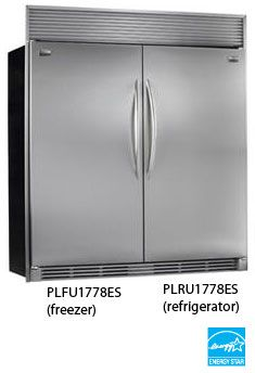 Dual Upright Electrolux Fridge Freezer Google Search Kitchen In 2018 Pinterest And