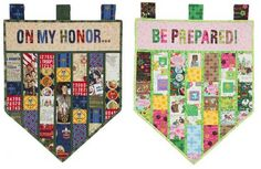 Scout Banners - I want to make these to display pins and patches on, one for Cub Scouts & one for Boy Scouts. They would be great for display at an Eagle Court of Honor.