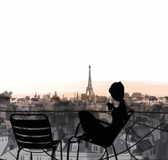 if only…Always #Paris #illustration