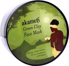 Akamuti Green Clay Face Mask