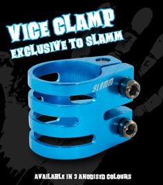Slamm Vice Clamp - lightweight and strong!