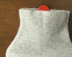 100% Cashmere Hot Water Bottle Cover. Gift for by effiehandmade