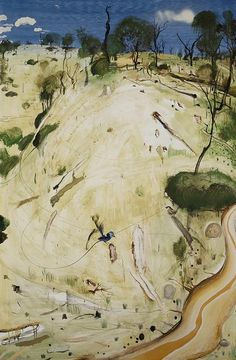Brett Whiteley — The Meeting Place (1981)