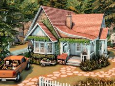 Sims 4 House Plans, Sims 4 House Building, Sims 4 House Design, Casas The Sims 4, Sims 4 Build, Sims 4 Houses, House Blueprints, House Layouts, Sims Cc
