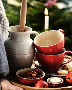 Cozy tableware from Le Creuset