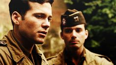 Webster (Eion Bailey) and Speirs (Matthew Settle) <3 Points
