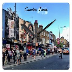 Camden Town Square Wall Clock
