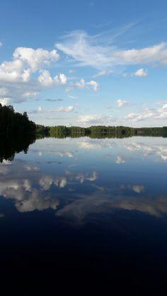 Pikkupilviä #cloud #lake #Puula #Finland
