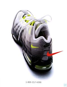 official photos ca65e 80fda Vintage Ad  Nike Air Max 95   Sole Collector Haute Couture, Chaussure,  Soulier