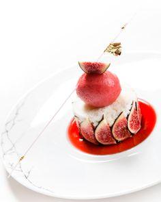 Fig dessert #plating #presentation