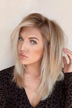 Mom Hairstyles, Long Blonde Hairstyles, Hairstyles For Medium Length Hair, Office Hairstyles, Anime Hairstyles, Stylish Hairstyles, Hairstyles Videos, Hairstyle Short, Hair Updo