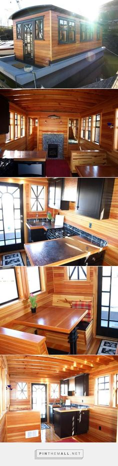 28.5' long by 10.5 wide Teak House Barge - created via http://pinthemall.net
