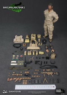 onesixthscalepictures: DAM Toys Navy SEAL SDV Team Operation Red Wings : Latest product news for 1/6 scale figures (12 inch collectibles) fr...